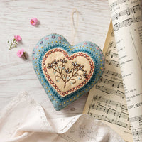 Felt Craft Kit - Hand Embroidered Heart
