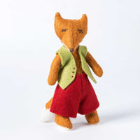 Hand Stitched Felt Softie Kit - Fergus Fox