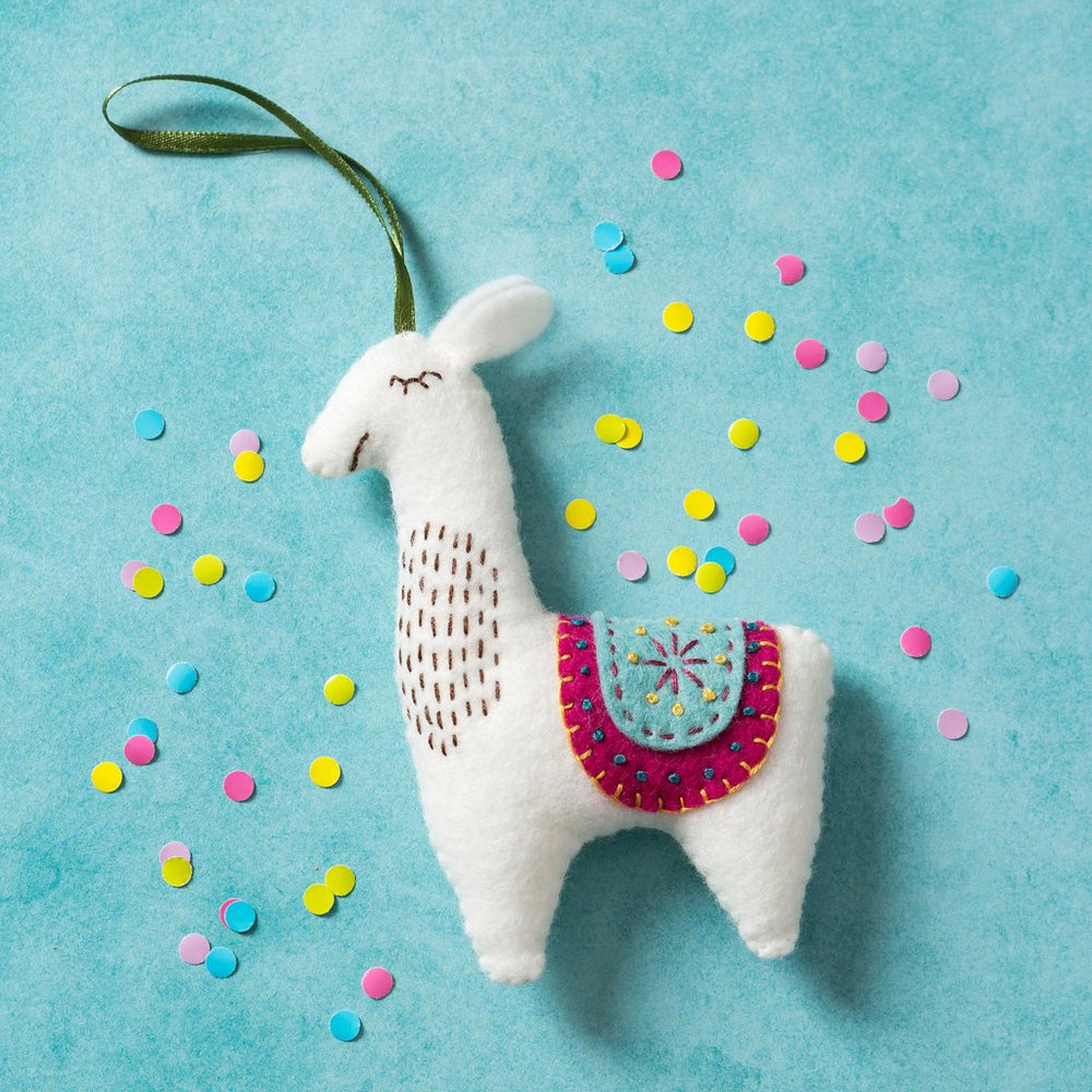 Felt Craft Mini Kit - Llama