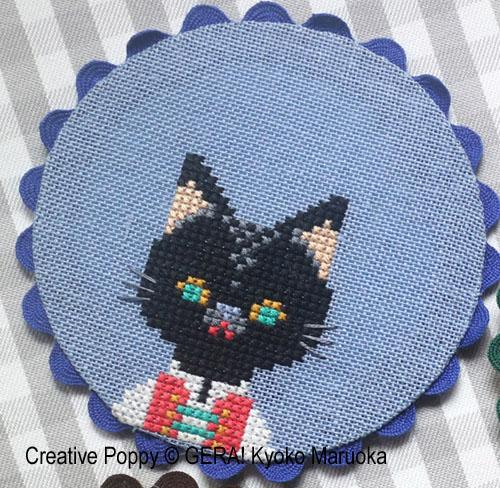 Animal Coasters Cross Stitch Pattern