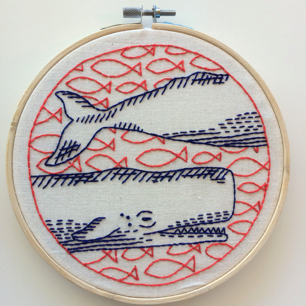 Deep Dive Handmade Embroidery Kit
