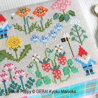 Gnomes in Springfield Cross Stitch Pattern