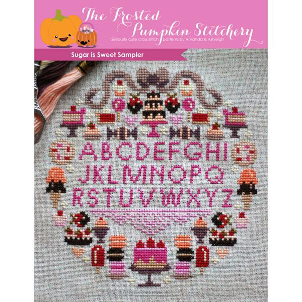 Sugar Is Sweet Cross Stitch Pattern
