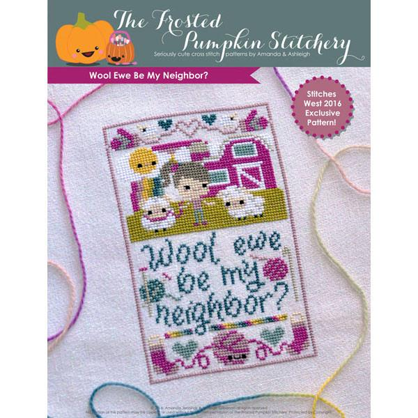Wool Ewe Be My Neighbor Cross Stitch Pattern