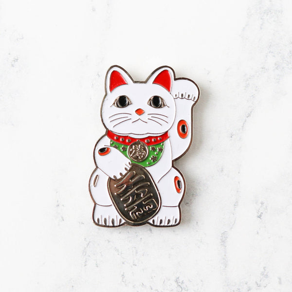 Fortune Kitty Needle Minder
