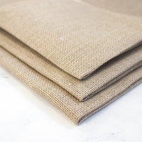 Raw Natural Aida Cross Stitch Fabric