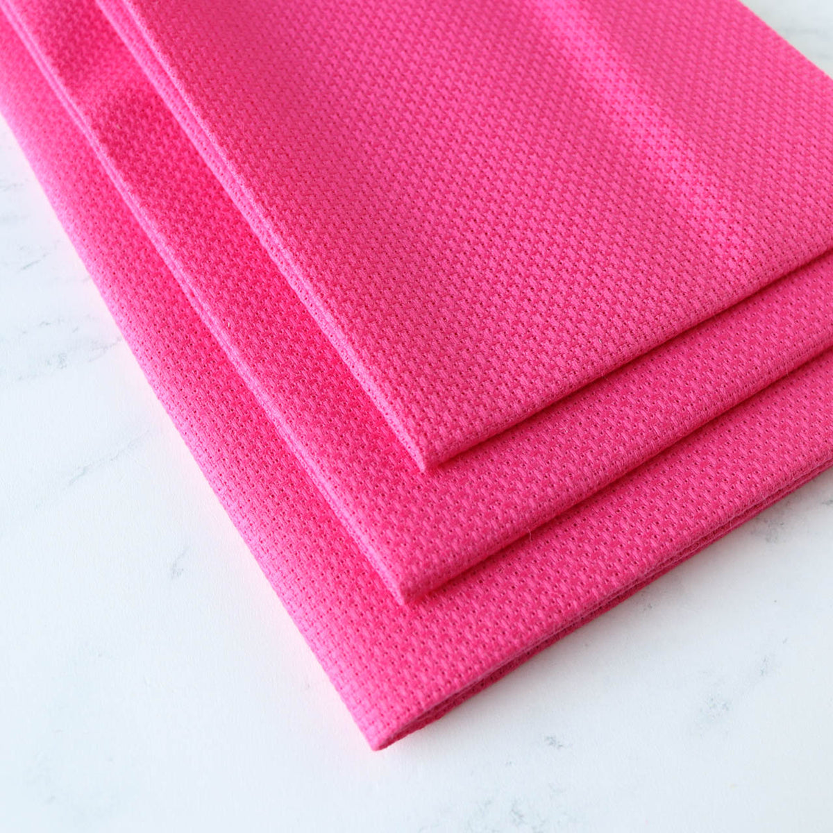 Raspberry Sorbet Cross Stitch Fabric - 14 Count