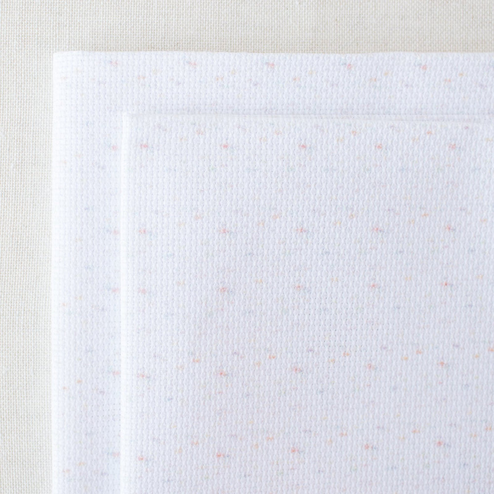Confetti Speckled Aida Cross Stitch Fabric