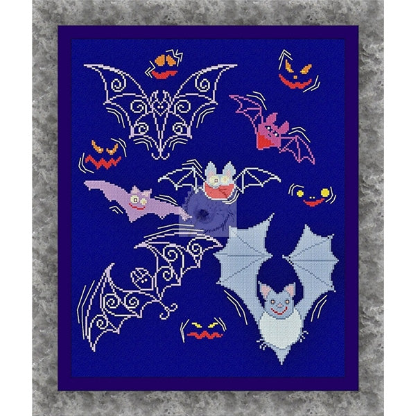 Night Flight Cross Stitch Pattern