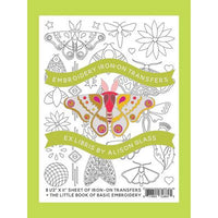 Alison Glass Embroidery Transfer Pattern - Ex Libris