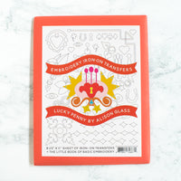 Alison Glass Embroidery Transfer Pattern - Lucky Penny
