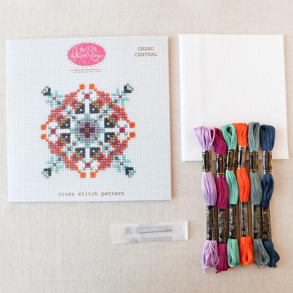 Grand Central Cross Stitch Pattern