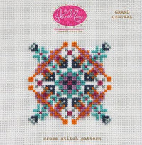 Anna Maria Horner Grand Central Cross Stitch Pattern