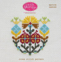 Anna Maria Horner Native Garden Cross Stitch Pattern
