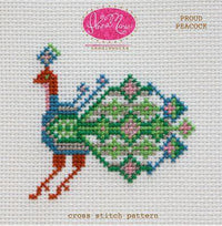Anna Maria Horner Proud Peacock Cross Stitch Pattern