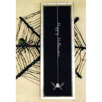 Long Spider Halloween Cross Stitch Pattern