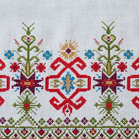 Mediterranean Folk Cross Stitch Pattern - Design 248