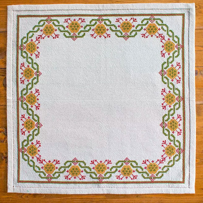 Mediterranean Folk Cross Stitch Kit - Design 211