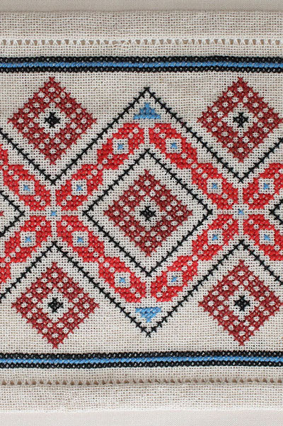Mediterranean Folk Cross Stitch Kit - Design 602