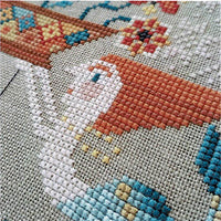 Flowers from the Sea Cross Stitch Pattern