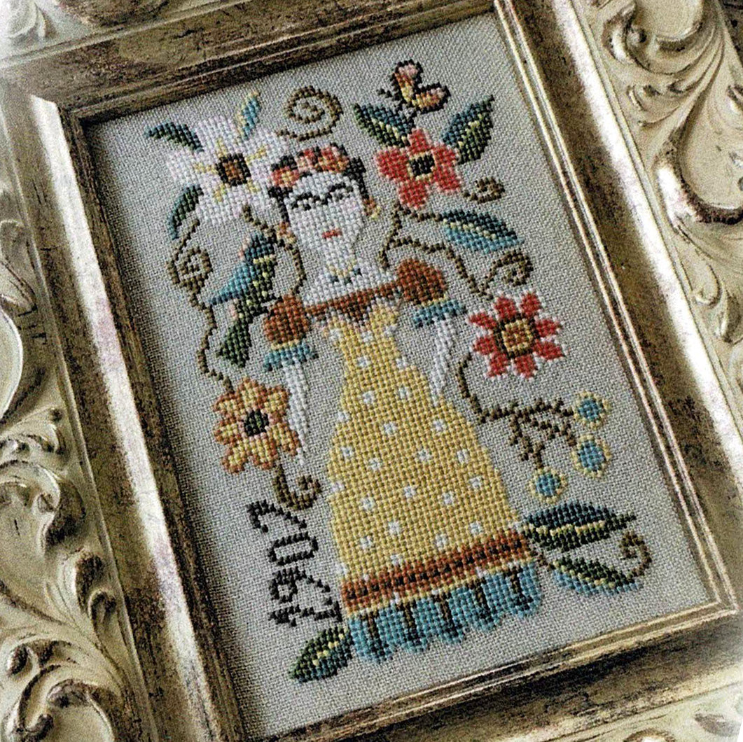 Frida Kahlo Cross Stitch Pattern