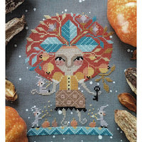 Miss Mandrake Cross Stitch Pattern