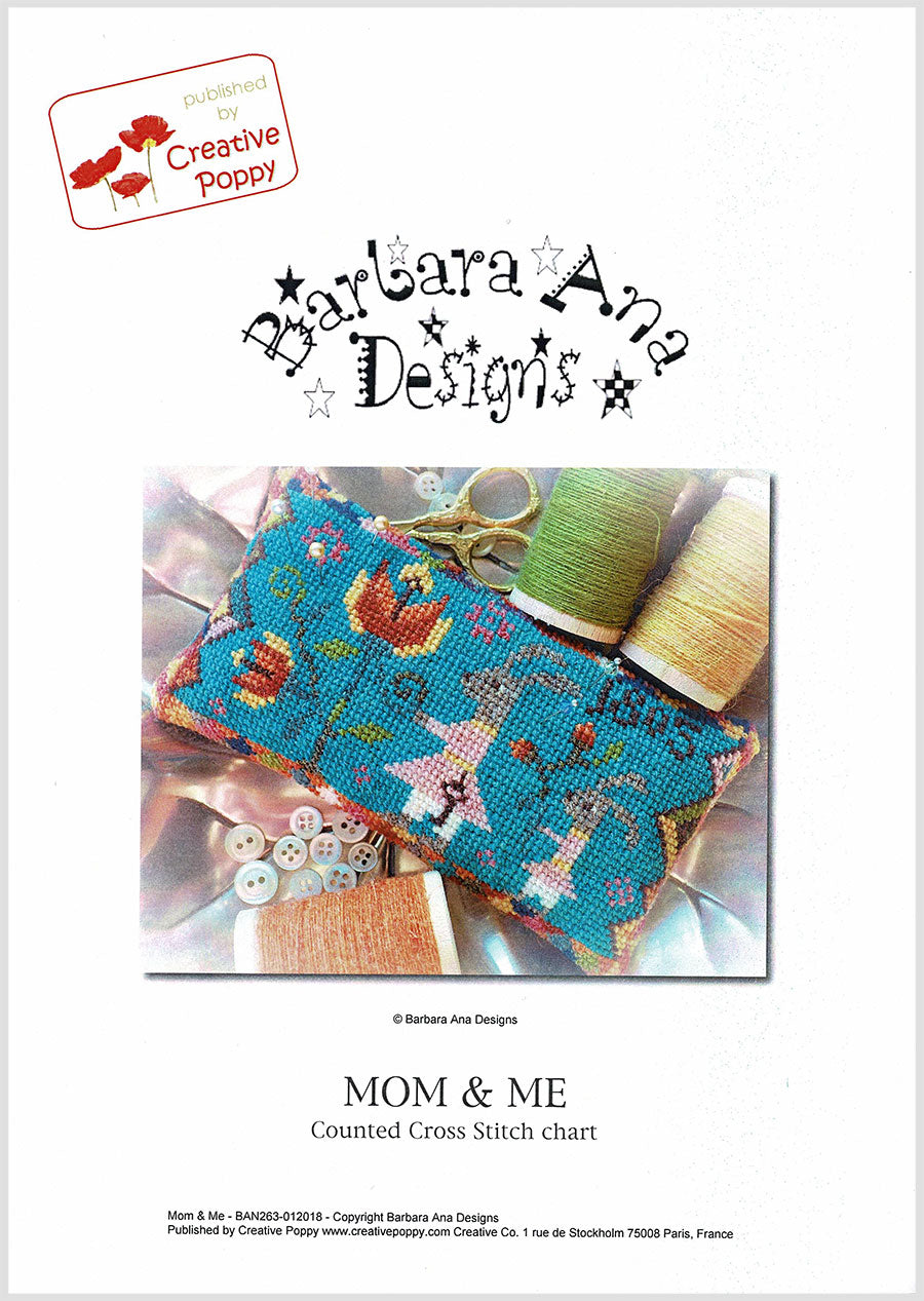 Mom & Me Cross Stitch Pattern