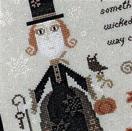 Something Wicked Cross Stitch Pattern
