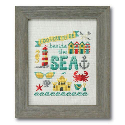 Beside the Sea Cross Stitch Pattern