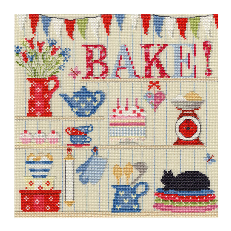 Bake! Cross Stitch Kit