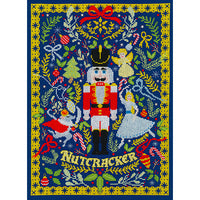 The Christmas Nutcracker Cross Stitch Kit