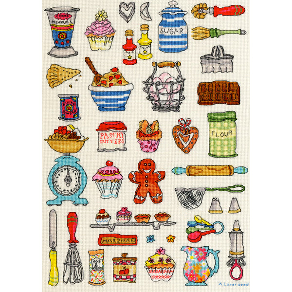 Baking Hobbies Cross Stitch Kit