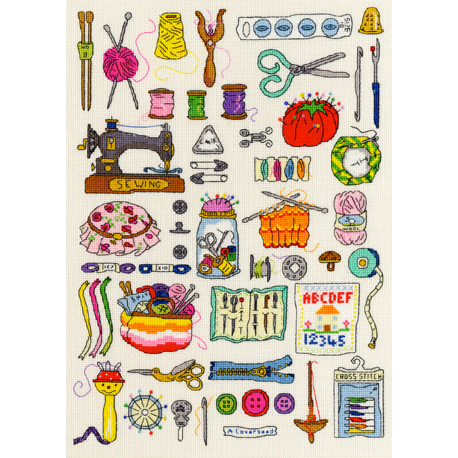 Sewing Hobbies Cross Stitch Kit