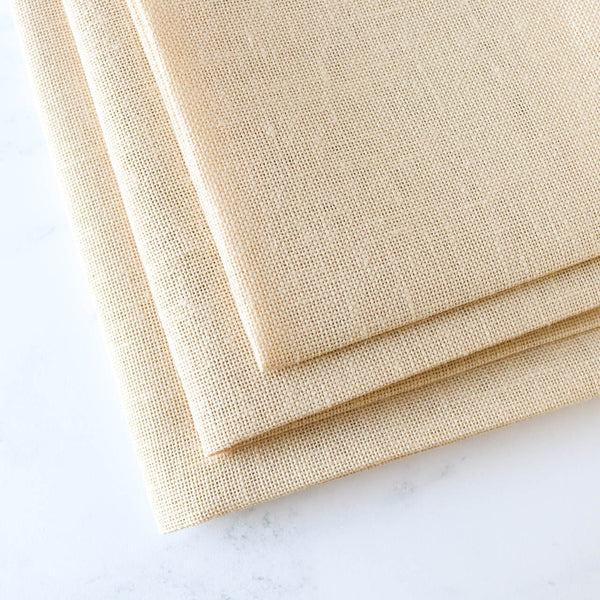 Antique Ivory Cashel Linen Fabric - 28 count
