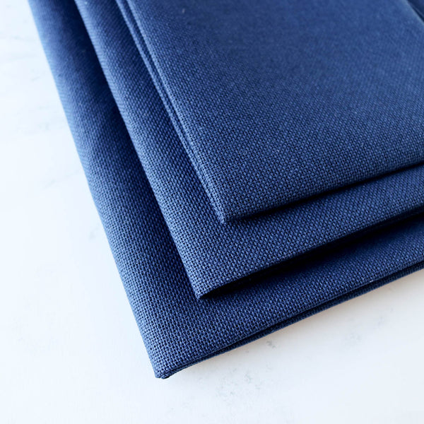 Navy Blue Evenweave Cross Stitch Fabric - 28 count
