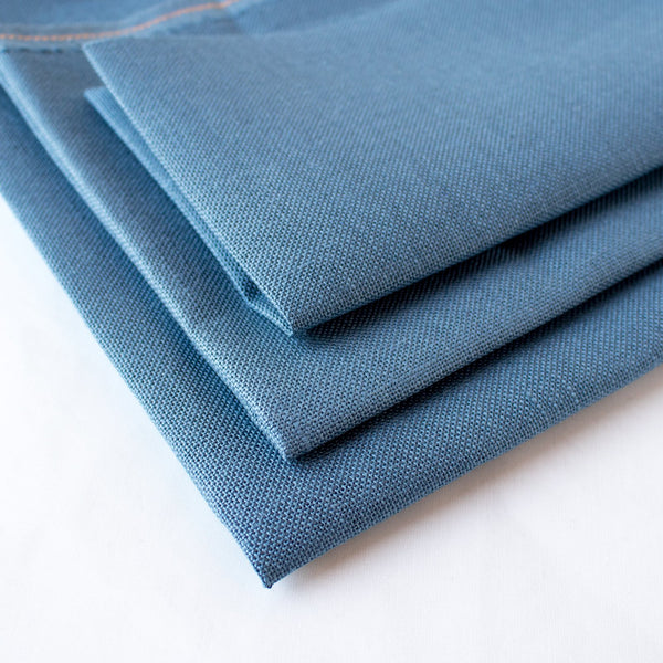 Blue Spruce Cashel Linen Fabric - 28 count