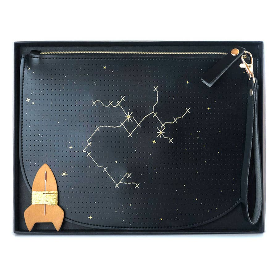 Stitch Your Star Sign Zip Pouch