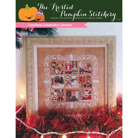 Christmas Celebration Sampler Cross Stitch Pattern