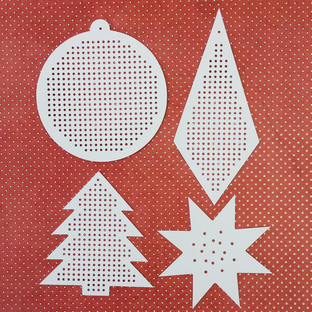 Paper Poetry Christmas Embroidery Boards