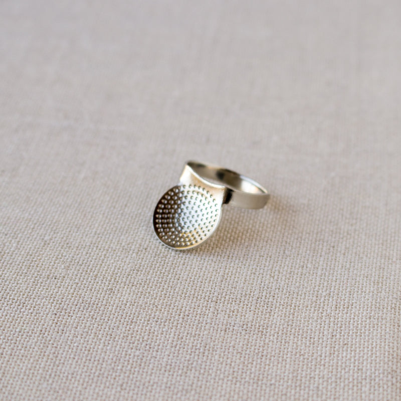 Adjustable Metal Thimble for Sashiko