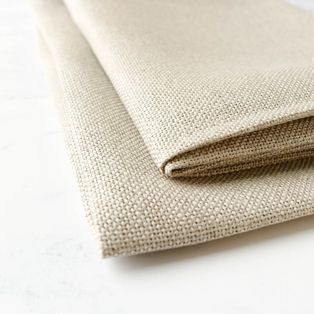 20-count Cork Linen Cross Stitch Fabric - Natural/Raw