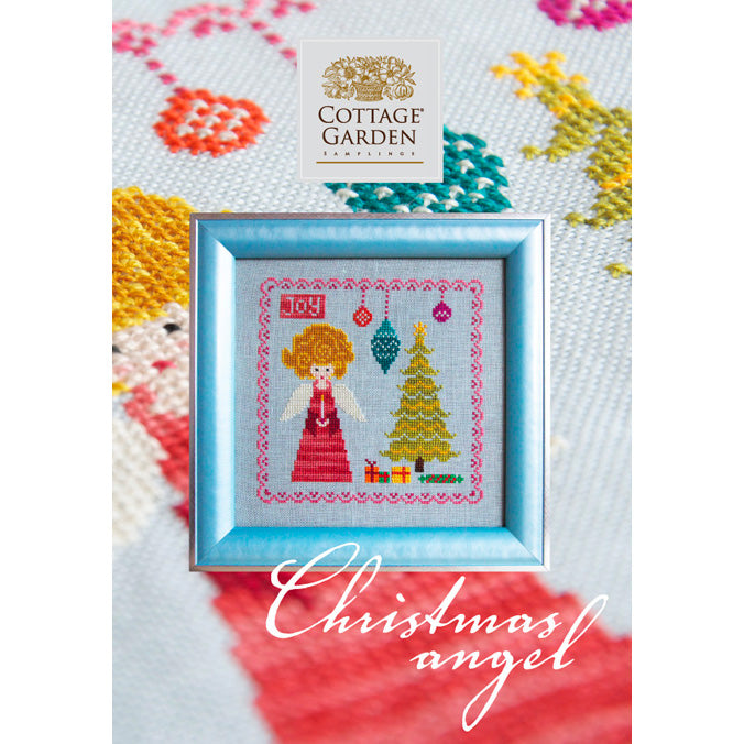 Christmas Angel Cross Stitch Pattern