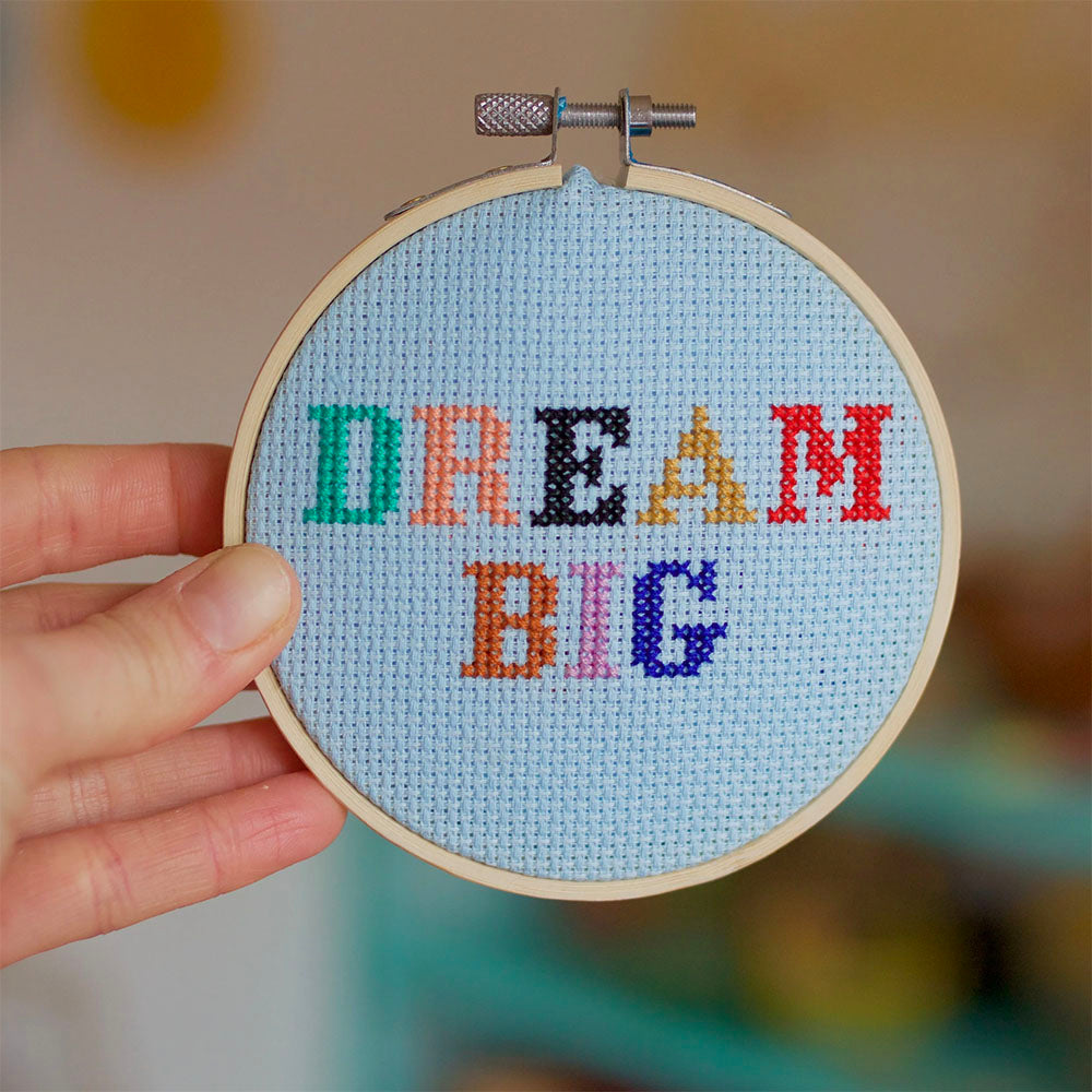 Dream Big Cross Stitch Kit