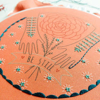 Be Still Hand Embroidery Kit