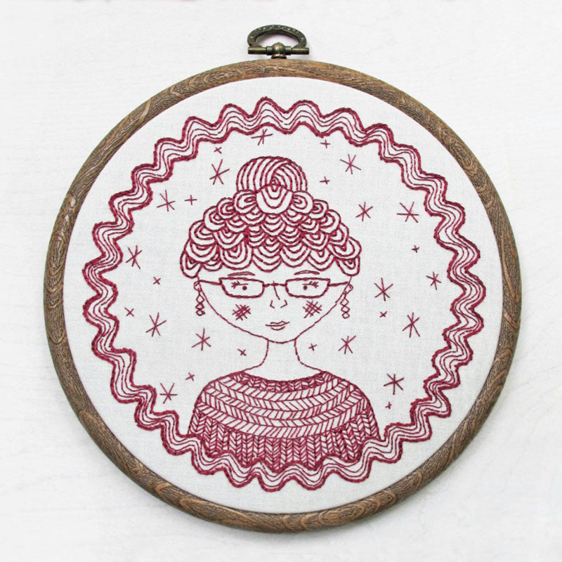 Captain's Wife Hand Embroidery Kit
