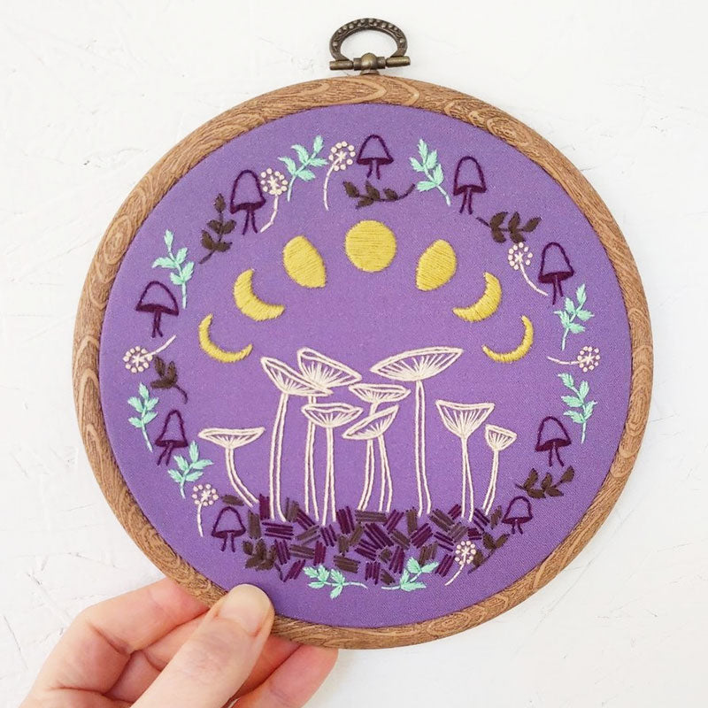 Fairy Ring Hand Embroidery Kit