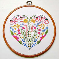 Full Heart Hand Embroidery Kit