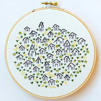 It Takes a Village Hand Embroidery Kit