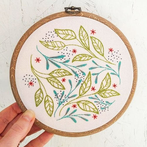 Leaf Dance Hand Embroidery Kit