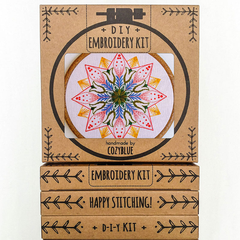 Market Day Hand Embroidery Kit